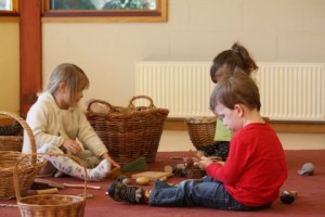 2. The serious intent of play (playgroup)