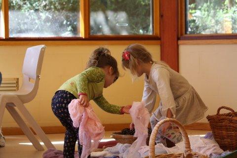 Photo of children playing.